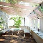 Декоративные пальмы в интерьере