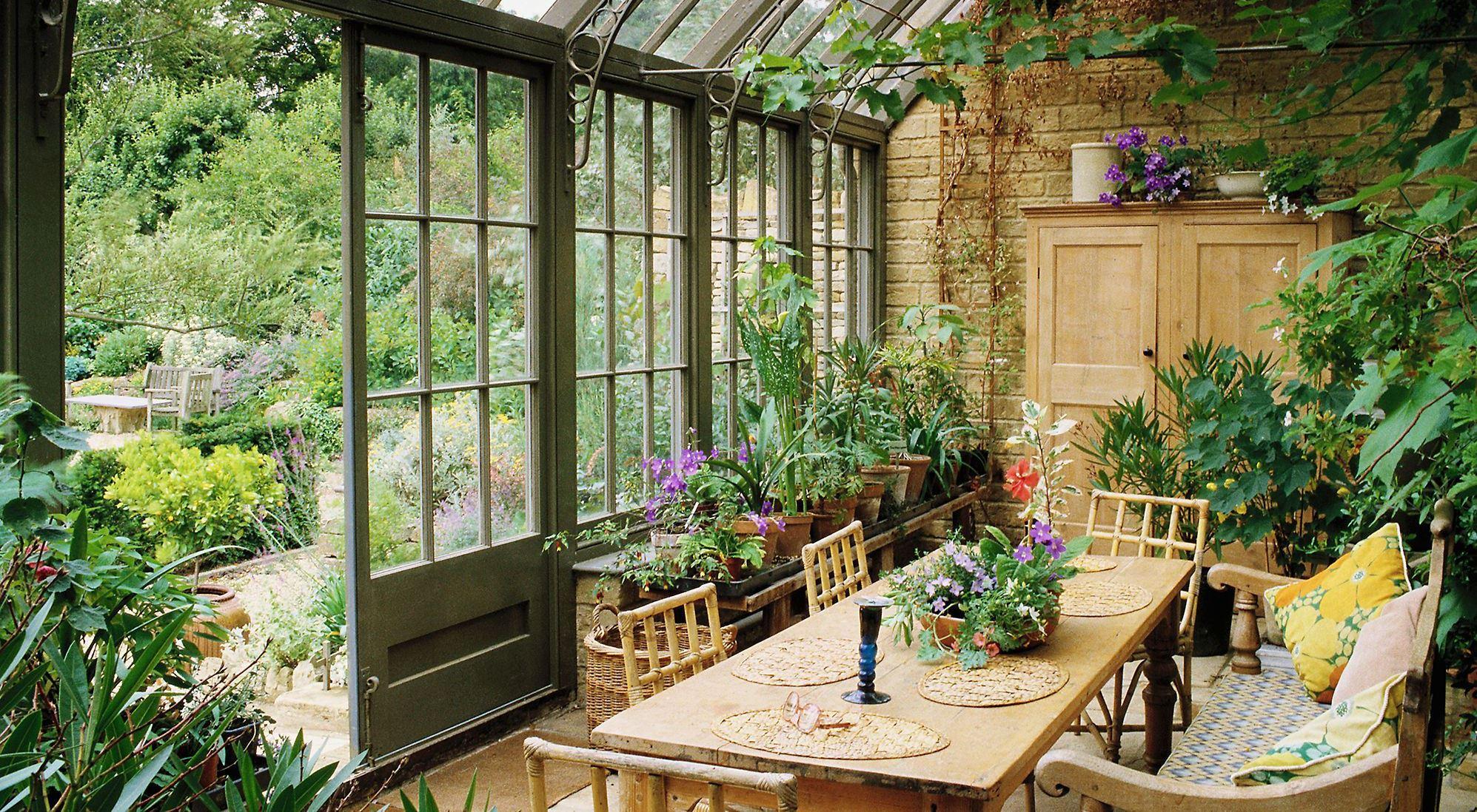 Зимний сад в английском стиле