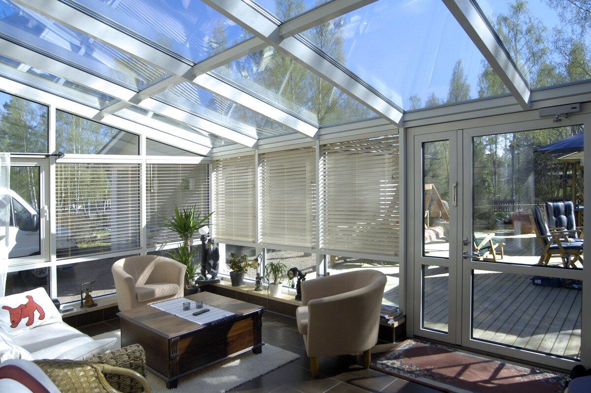 стеклянные крыши для частных домов фото секрет здесь удивительной