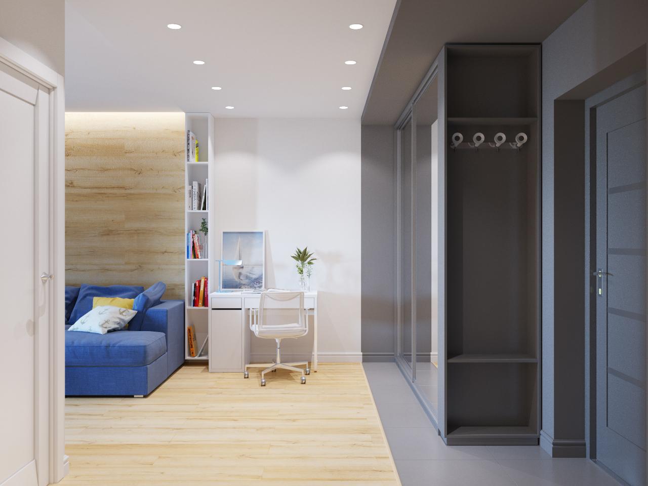 лучший цвет дверей для однокомнатной квартиры фото самого
