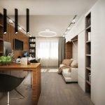 Вариант обустройства квартиры