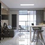 Балкон в квартире-студии