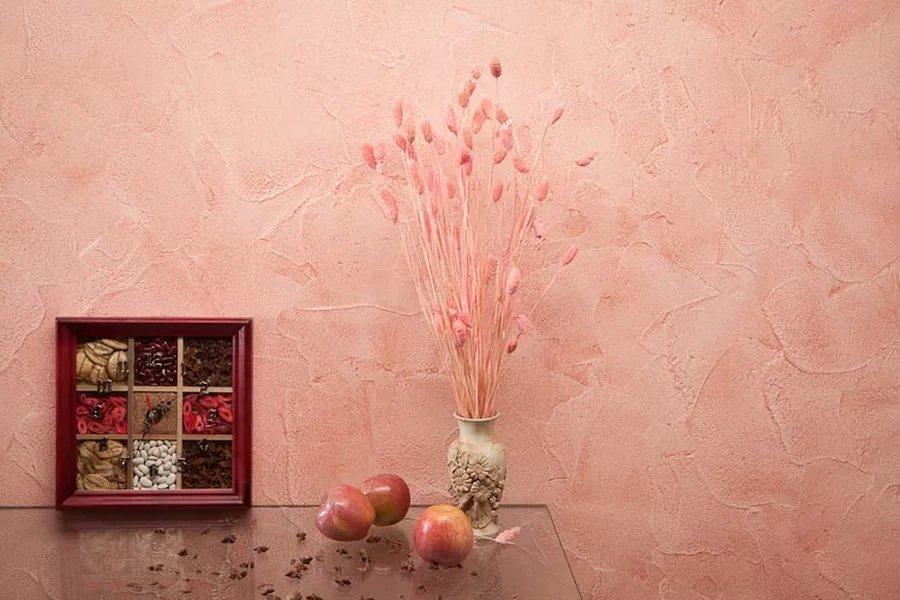 Краска Рельеф на стене