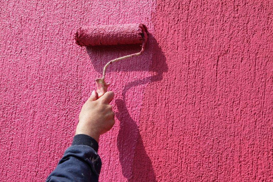 Фактурная краска для стен фото разновидности и преимущества