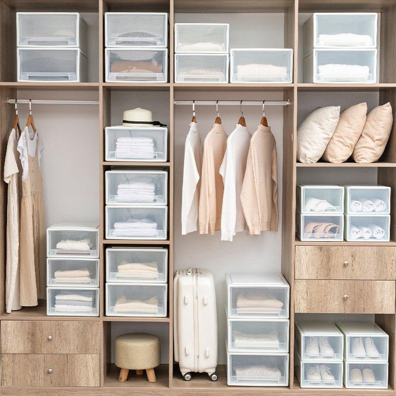 Готовые системы хранения вещей в шкафу