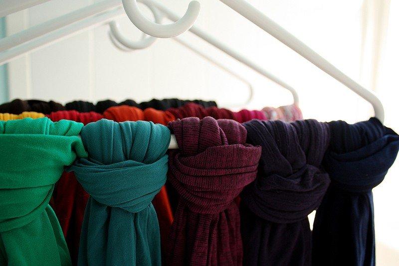 Платки в шкафу