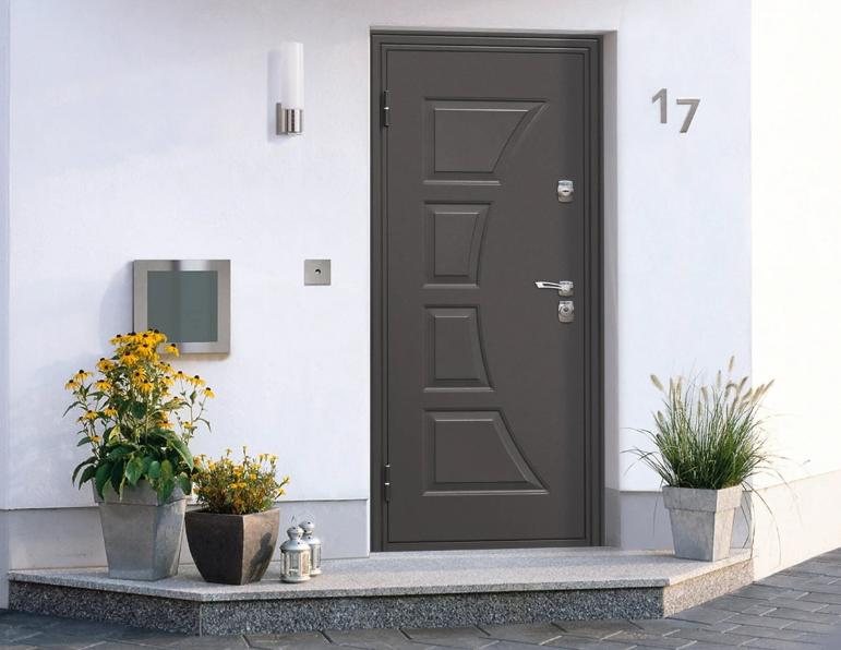 Вариант входной двери