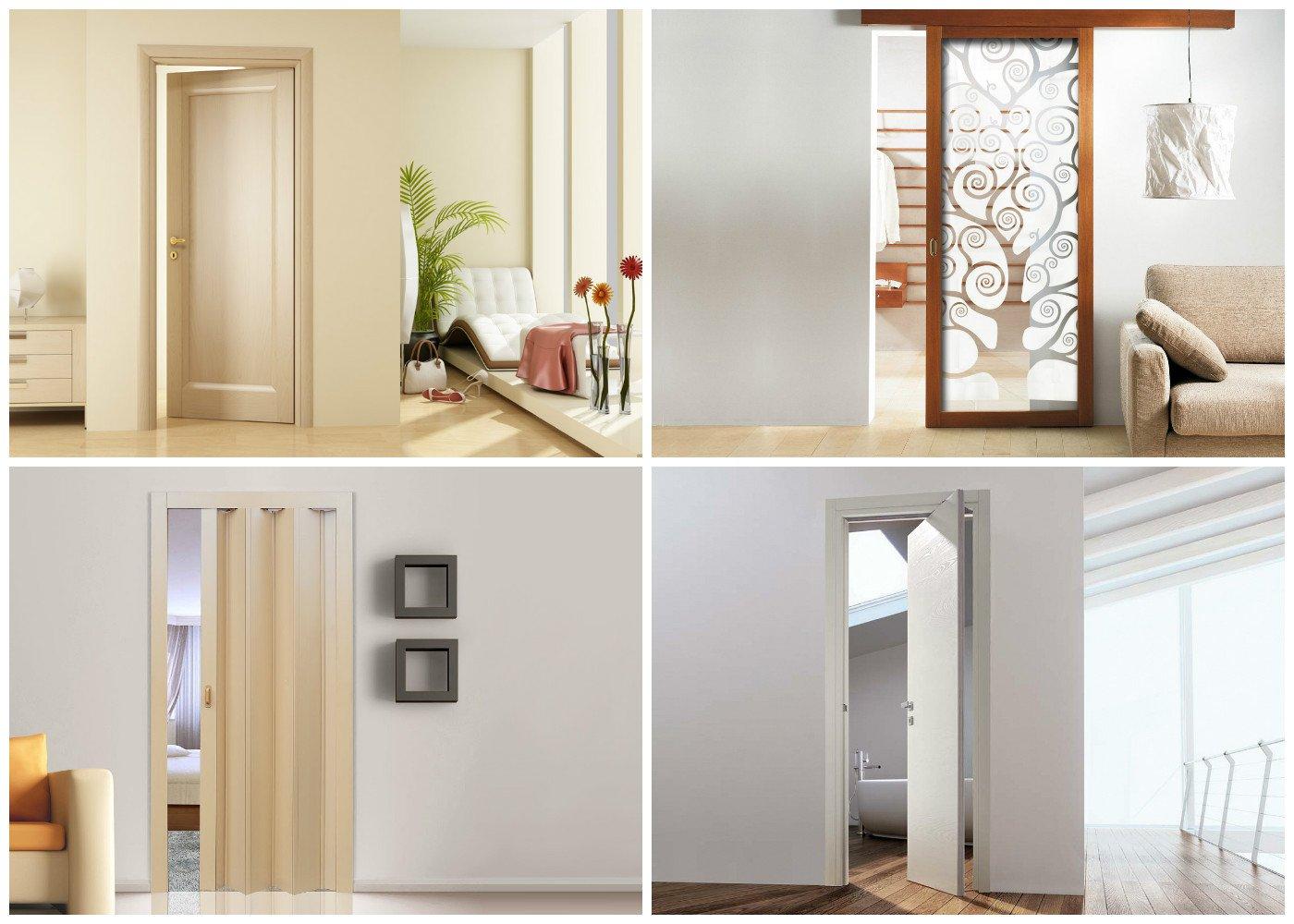 Материал изготовления дверей