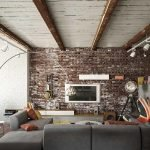 Обустройство квартиры в стиле лофт