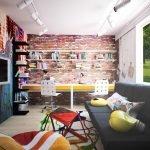 Лофт-стиль в детской комнате