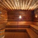 Потолок из бревен