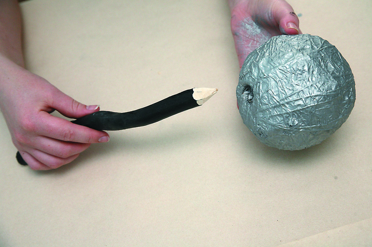 Фиксация шара на ствол