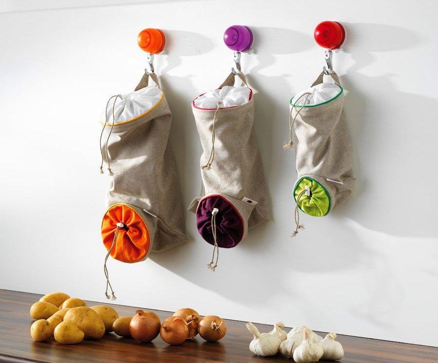 Карманы для хранения овощей