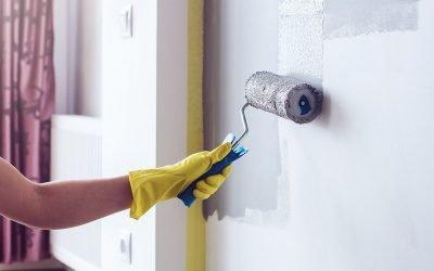 Подготовка стен под покраску: порядок работ