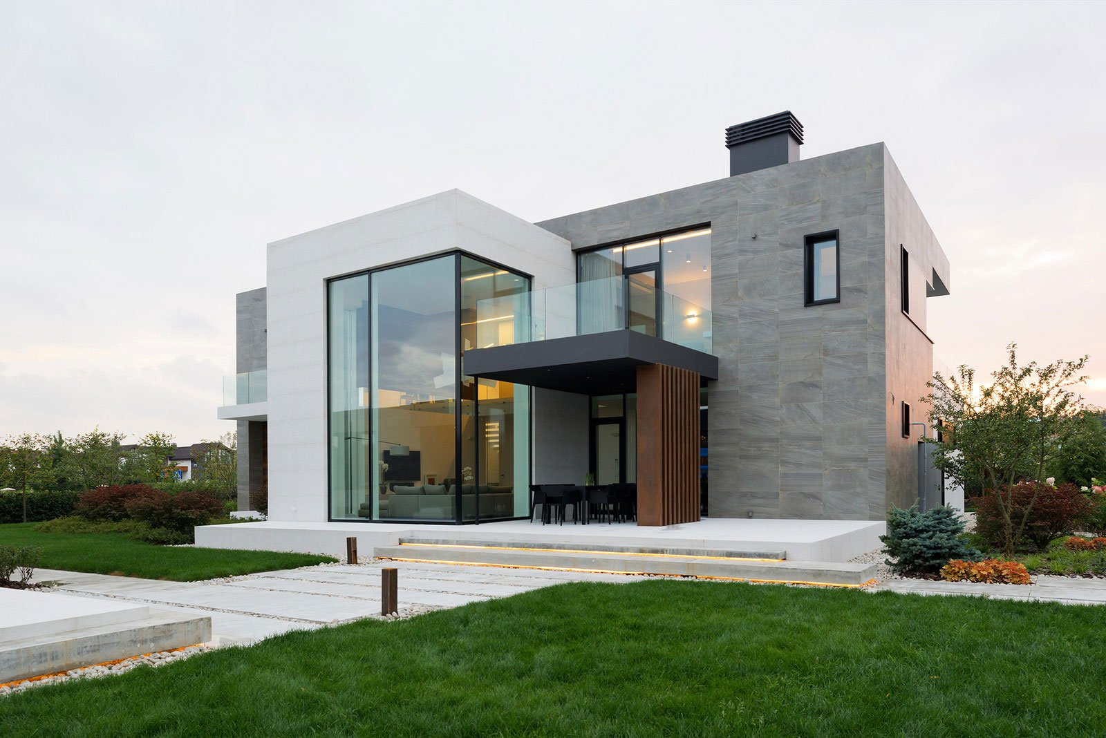 Стильный дом