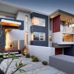 Интересный фасад дома