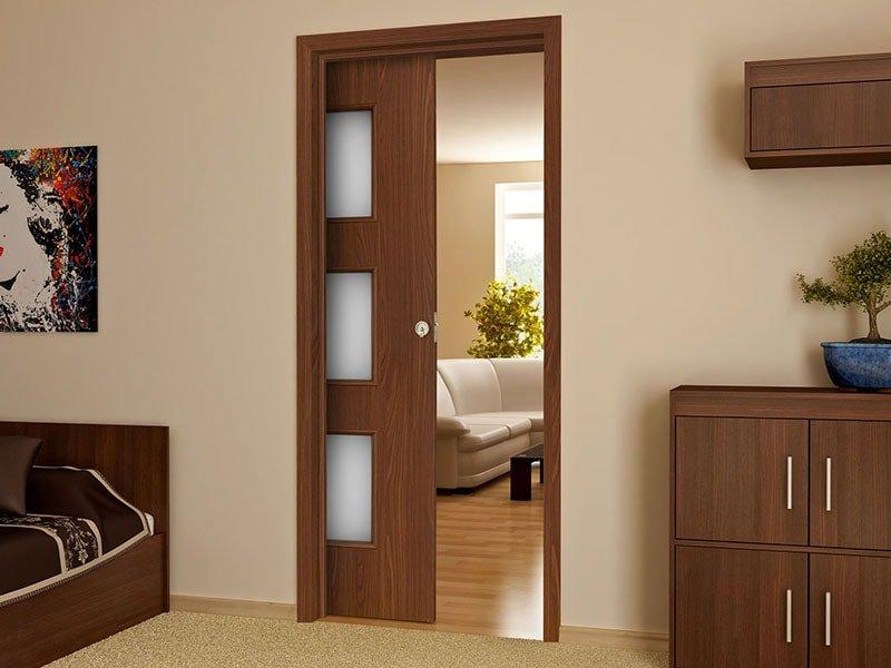 Раздвижные двери-пенал