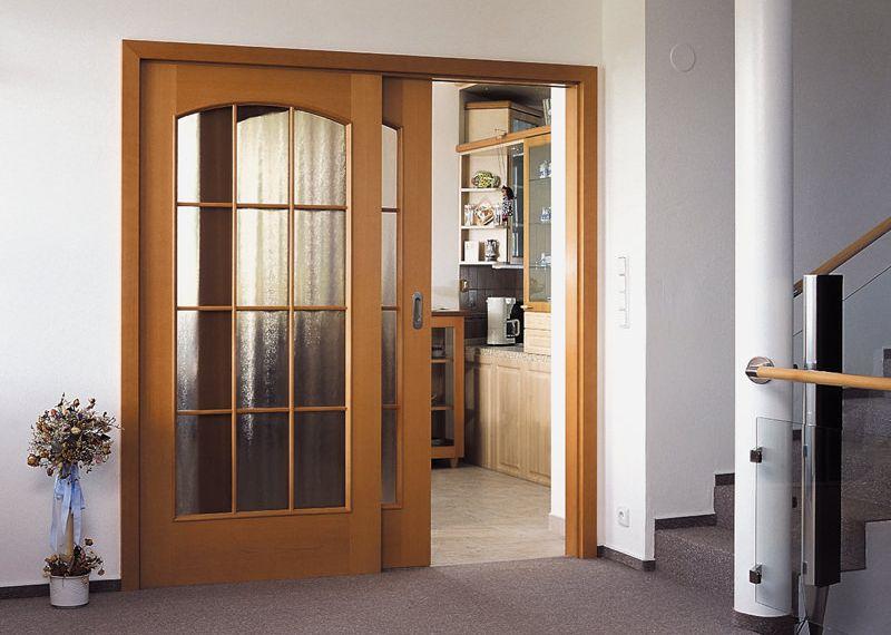 Внутрипроемные раздвижные двери