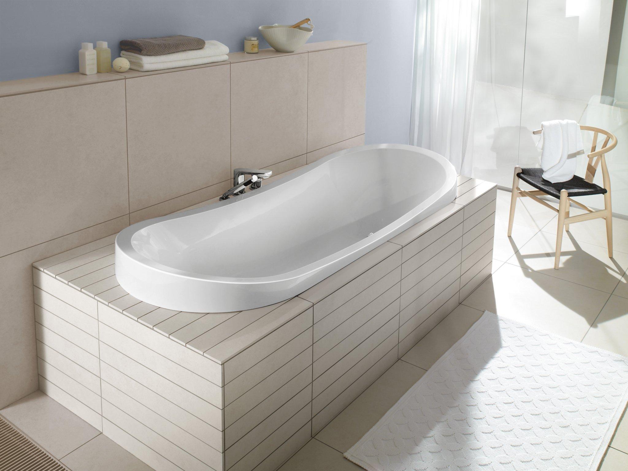 Стандартный размер ванны