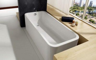 Типовые размеры ванны: стандарты