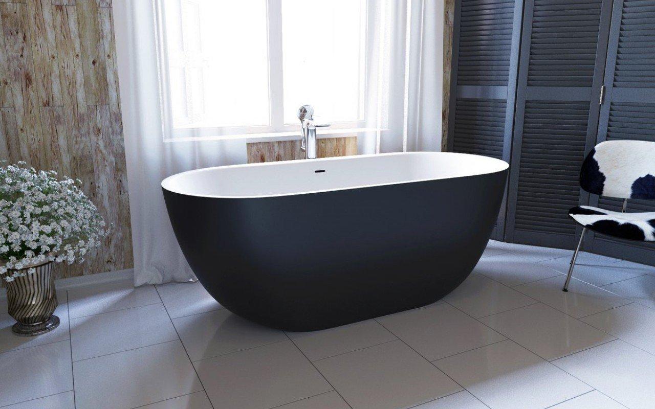 Ванна с овальной чашей