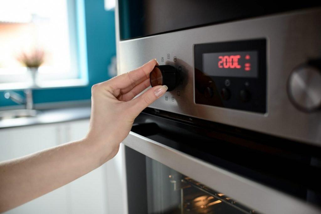Включить духовку