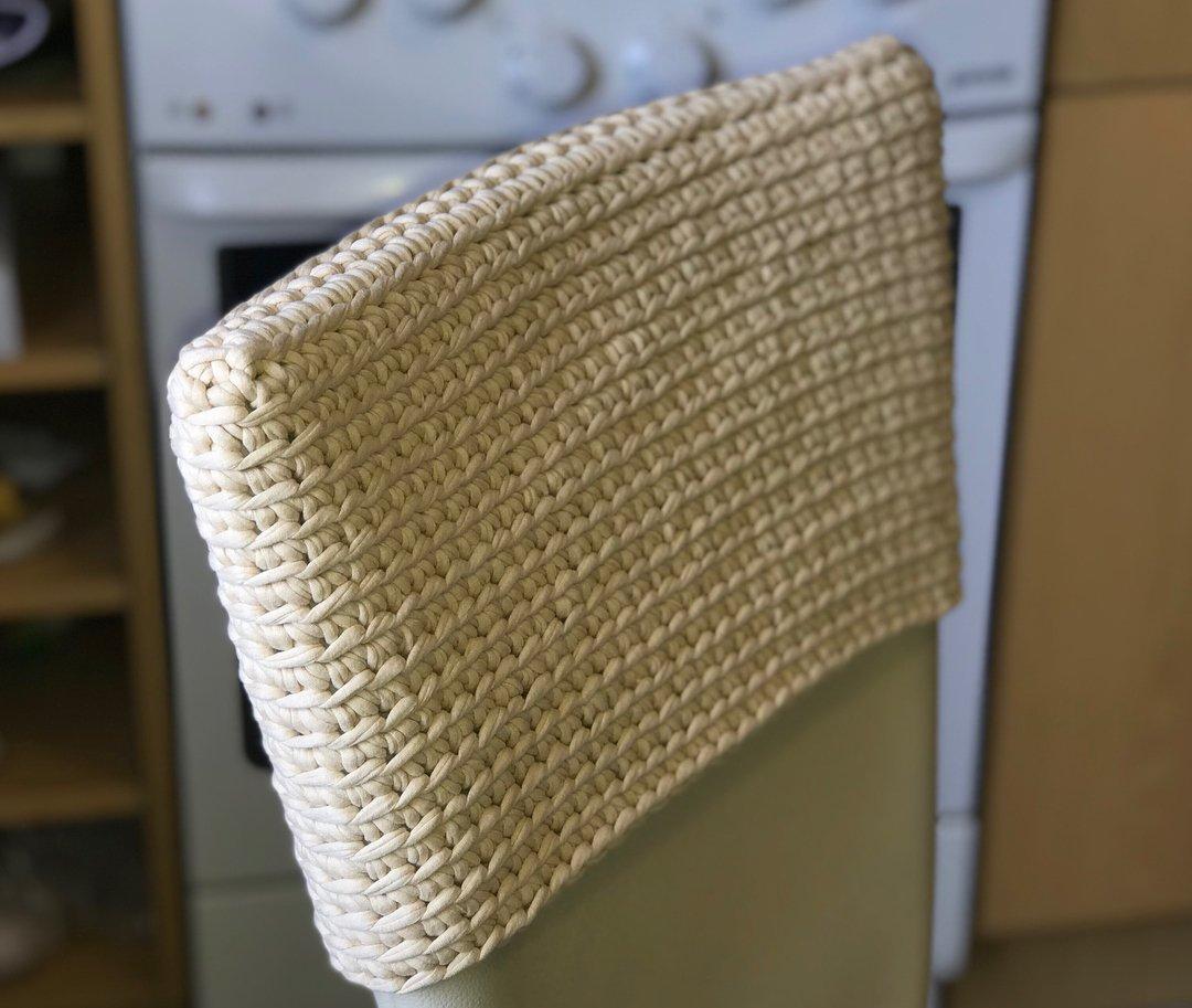 Чехол на спинку стула
