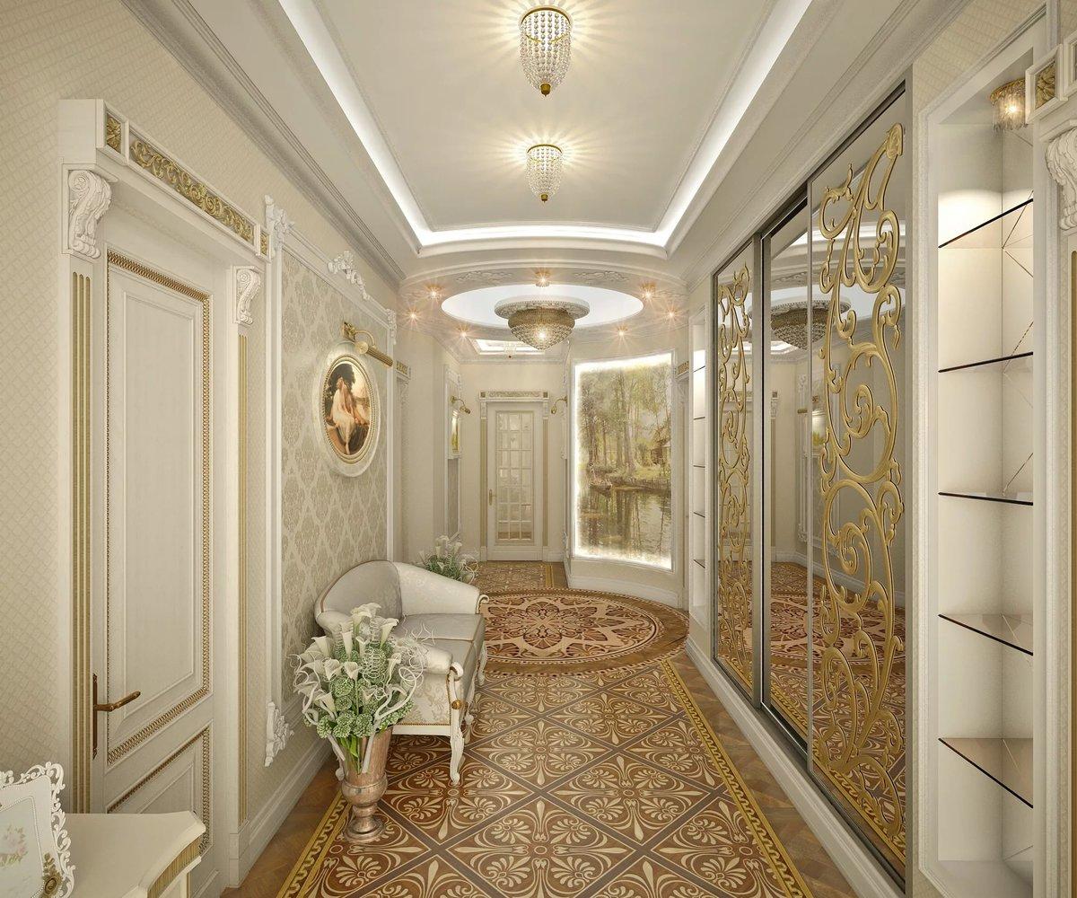 одежа интернет дизайн длинного коридора в классическом стиле фото вредителями можно помощью