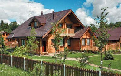 Деревенский дом: оформление интерьера