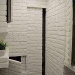 Белая гипсовая плитка