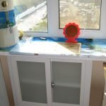 Пластиковое окно на кухне