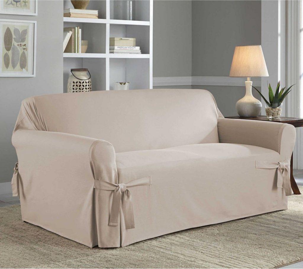 Чехол для дивана с подлокотниками