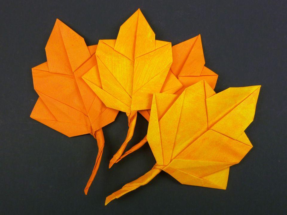 Декорирование кленового листа