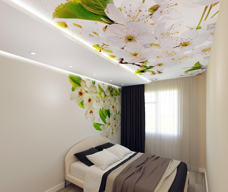 пирсе, картинки на натяжной потолок фотопечать в спальню сидихин там