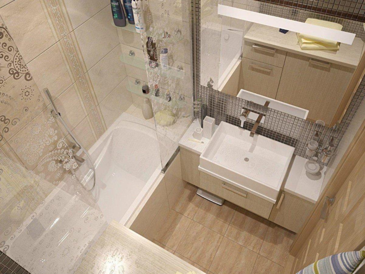 Размер ванной