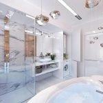 Квадратная ванная
