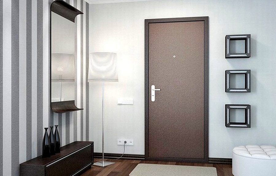 Установка железной двери