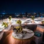 Ужин на крыше дома