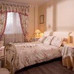 Прованс шторы в спальне