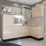 Кухонная мебель с печью