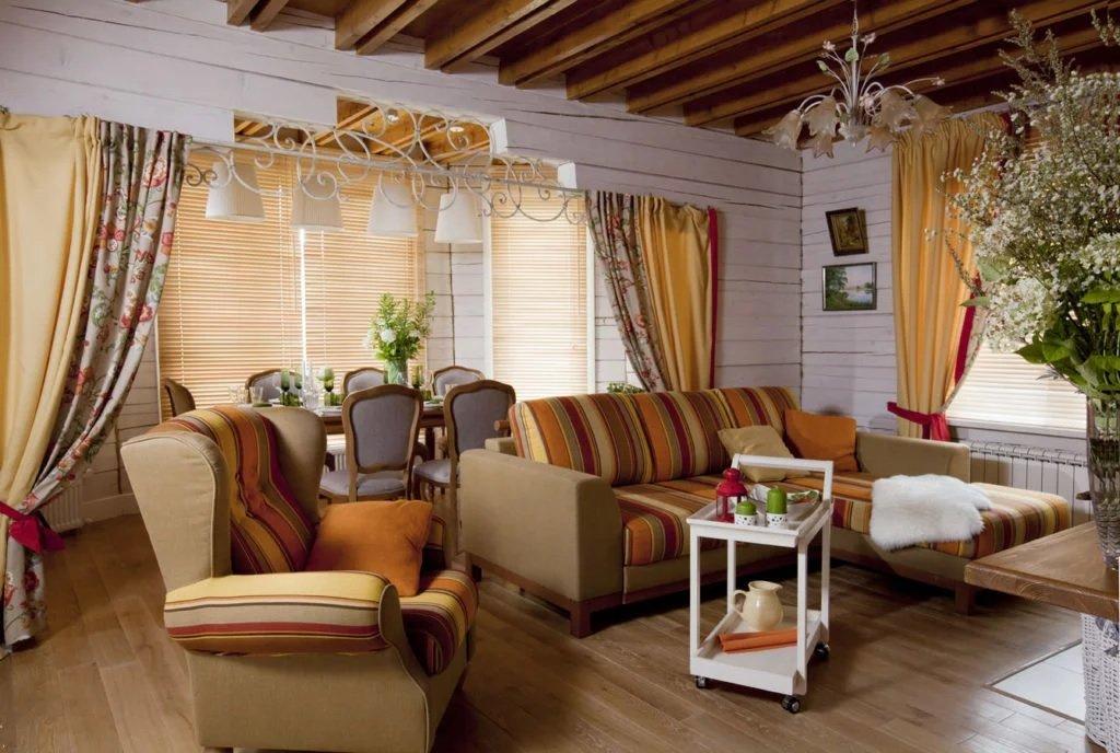 Мягкая мебель в интерьере в стиле прованс