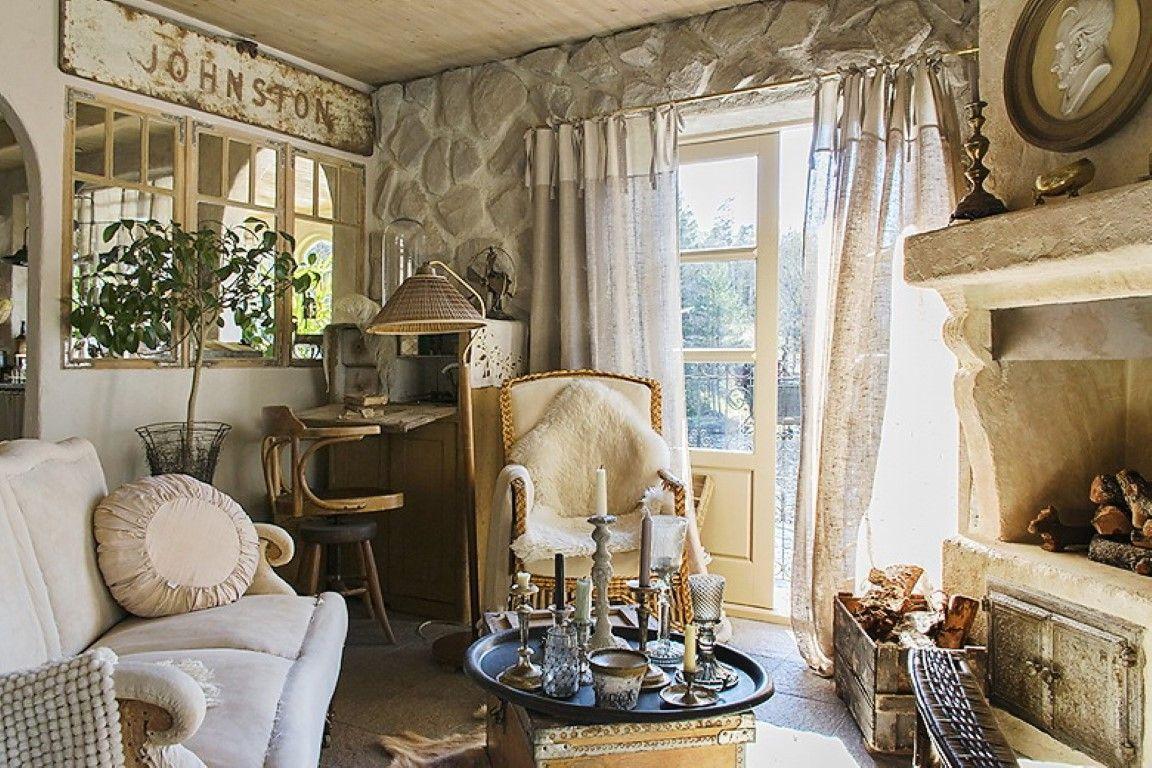 Внутренняя отделка комнат в стиле прованс