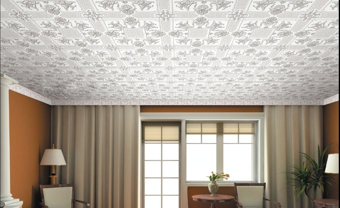 потолок из плиток пенопласта фото огромном желании, чтобы