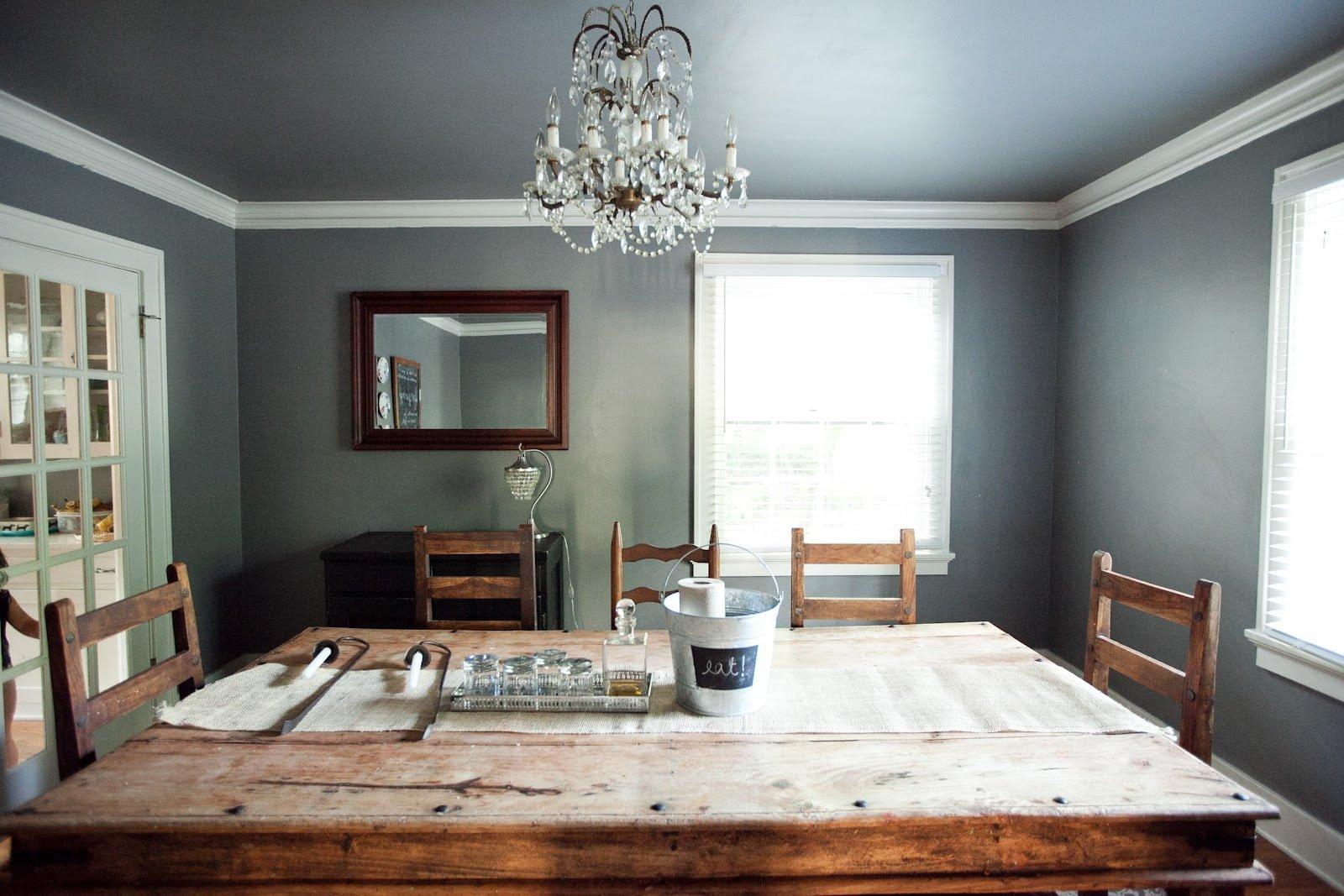 вразмашку можно потолок темнее стен фото что готовить это