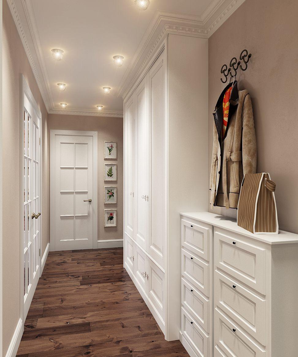 Фото прихожая узкий коридор дизайн