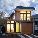 Дом с гаражом из бетона