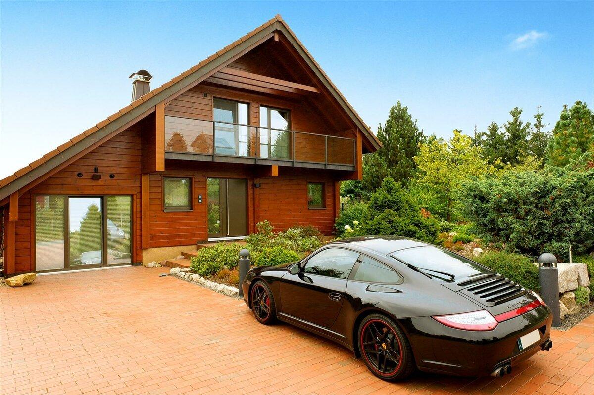 героя фото красивый дом и машина что может быть