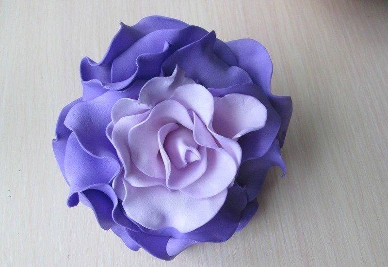 Роза в японском стиле