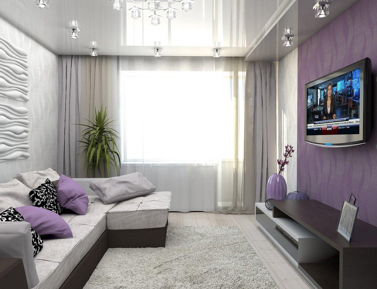 Фиолетовый с серым