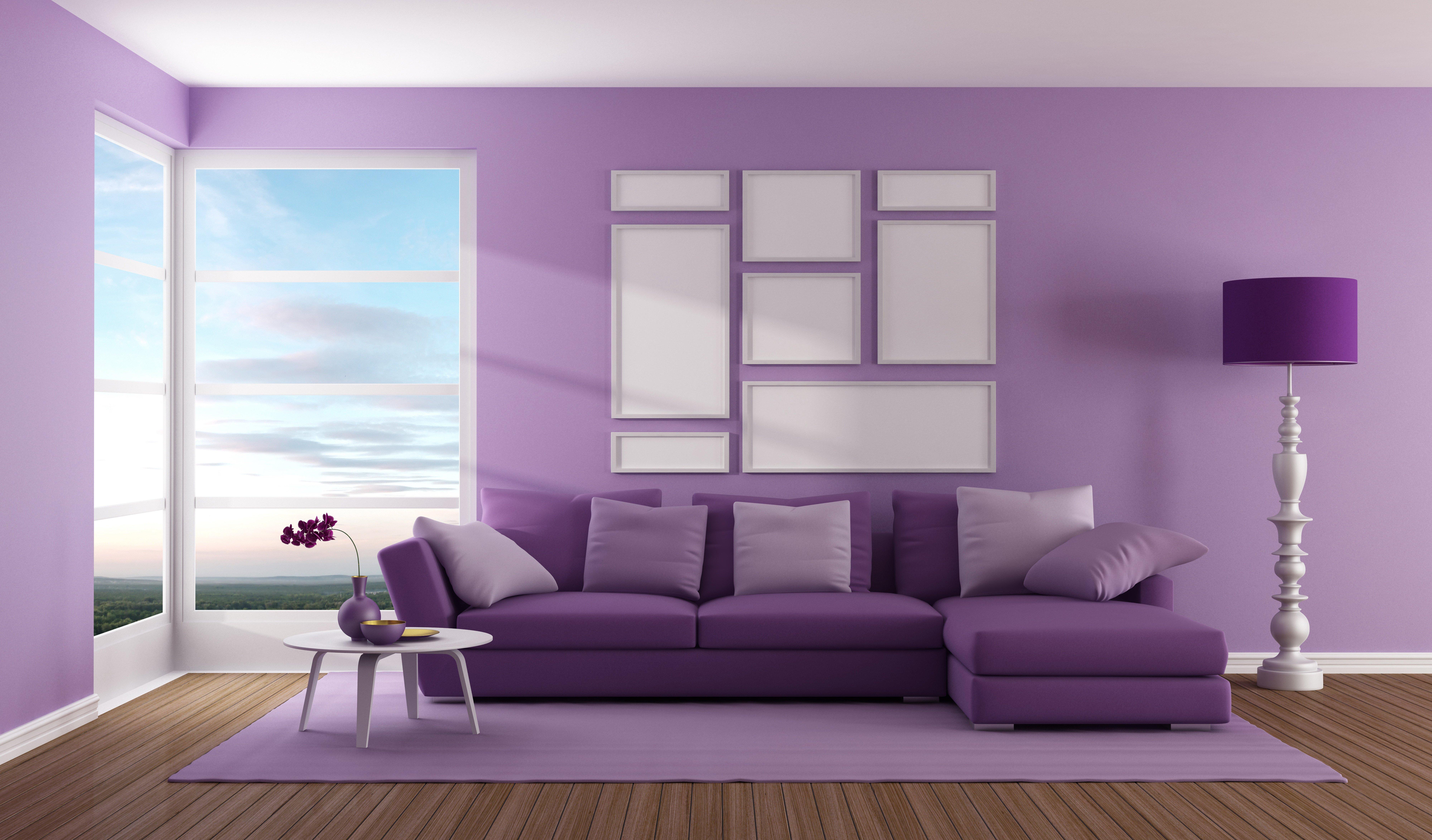 Фиолетовый и сереневый